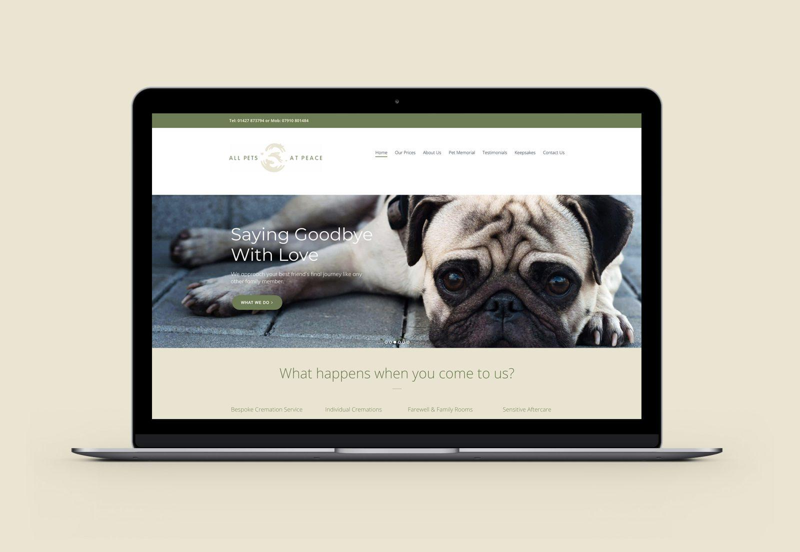 All Pets at Peace Homepage