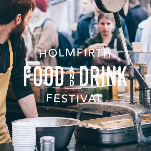 Logo for Holmfirth Food and Drink Festival
