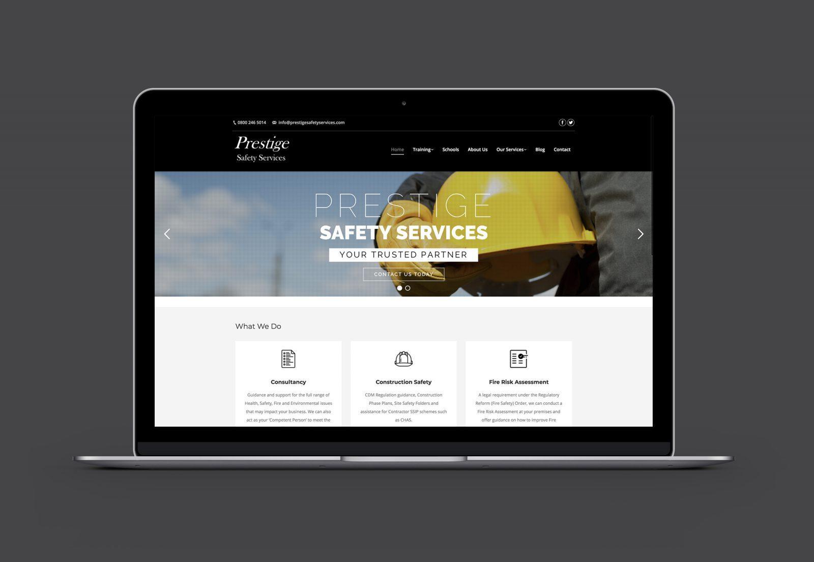 Prestige Safety Services Homepage