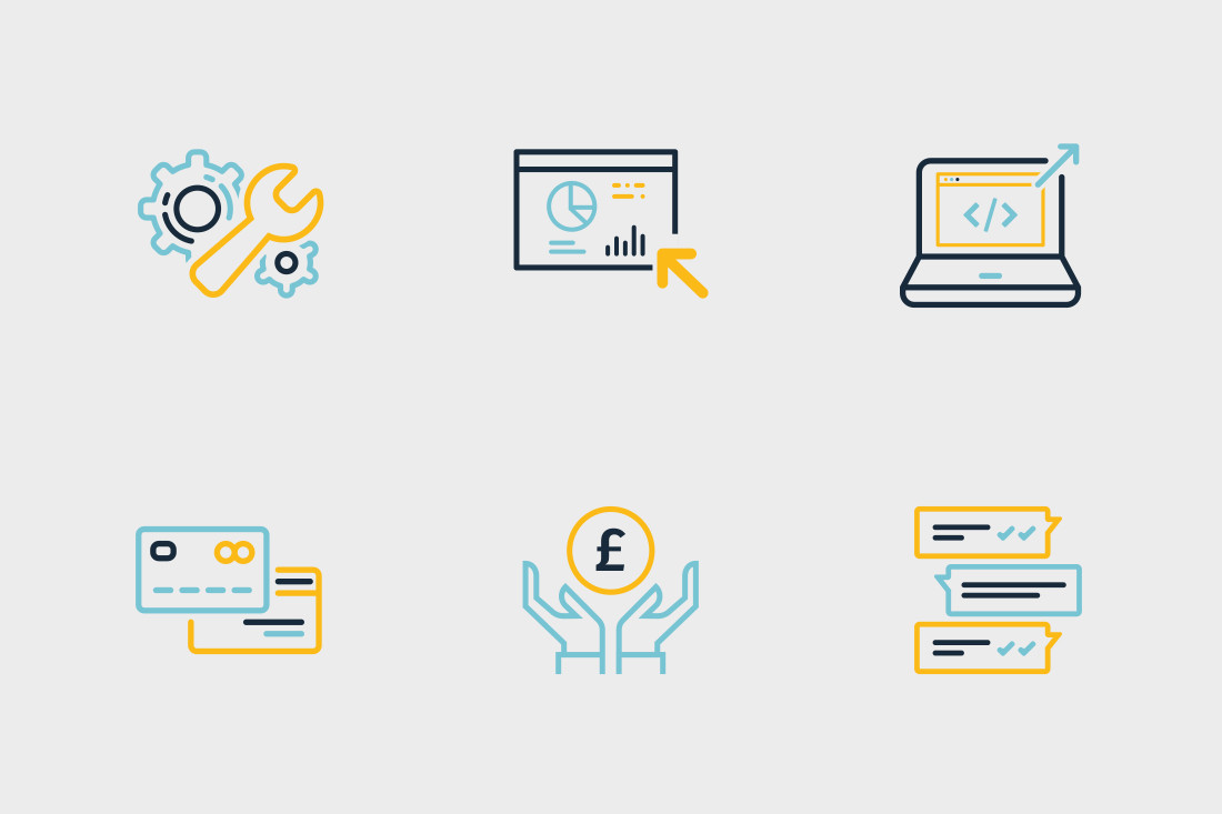 Reach Interactive Service Icons