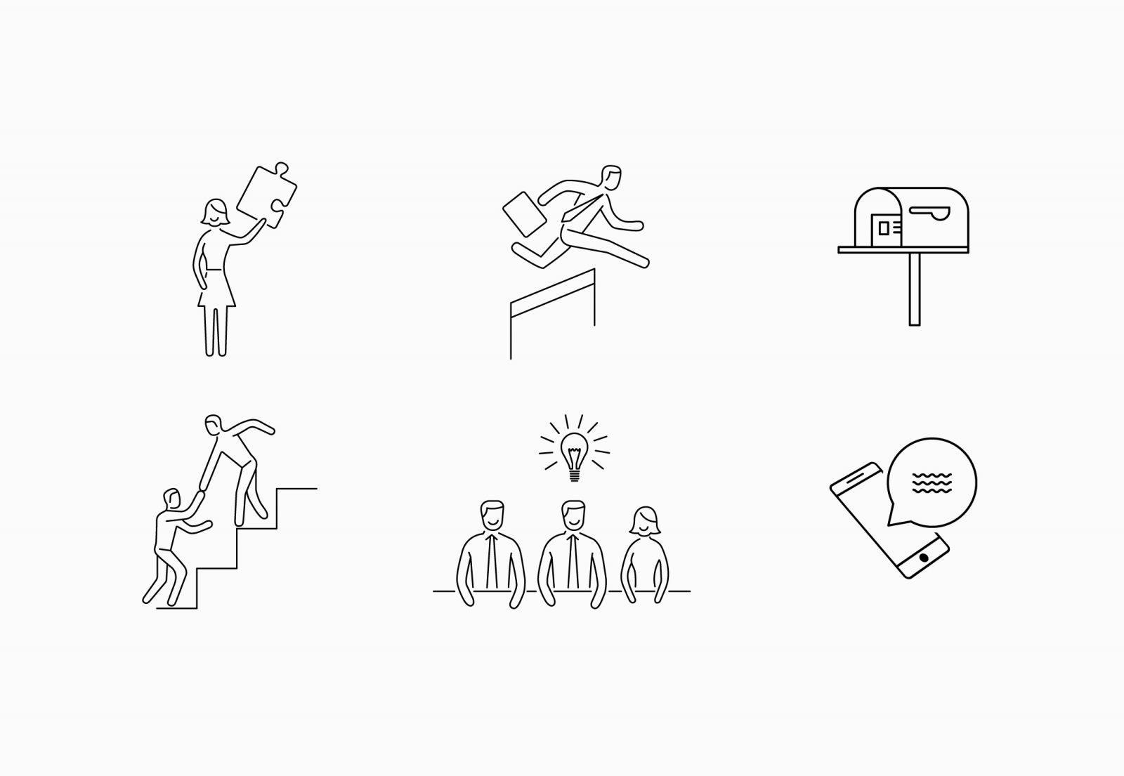 Scaffold Executive Coaching Icon Design