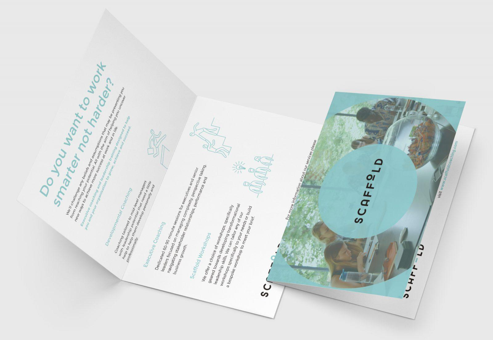 Scaffold Executive Coaching Printed Collateral