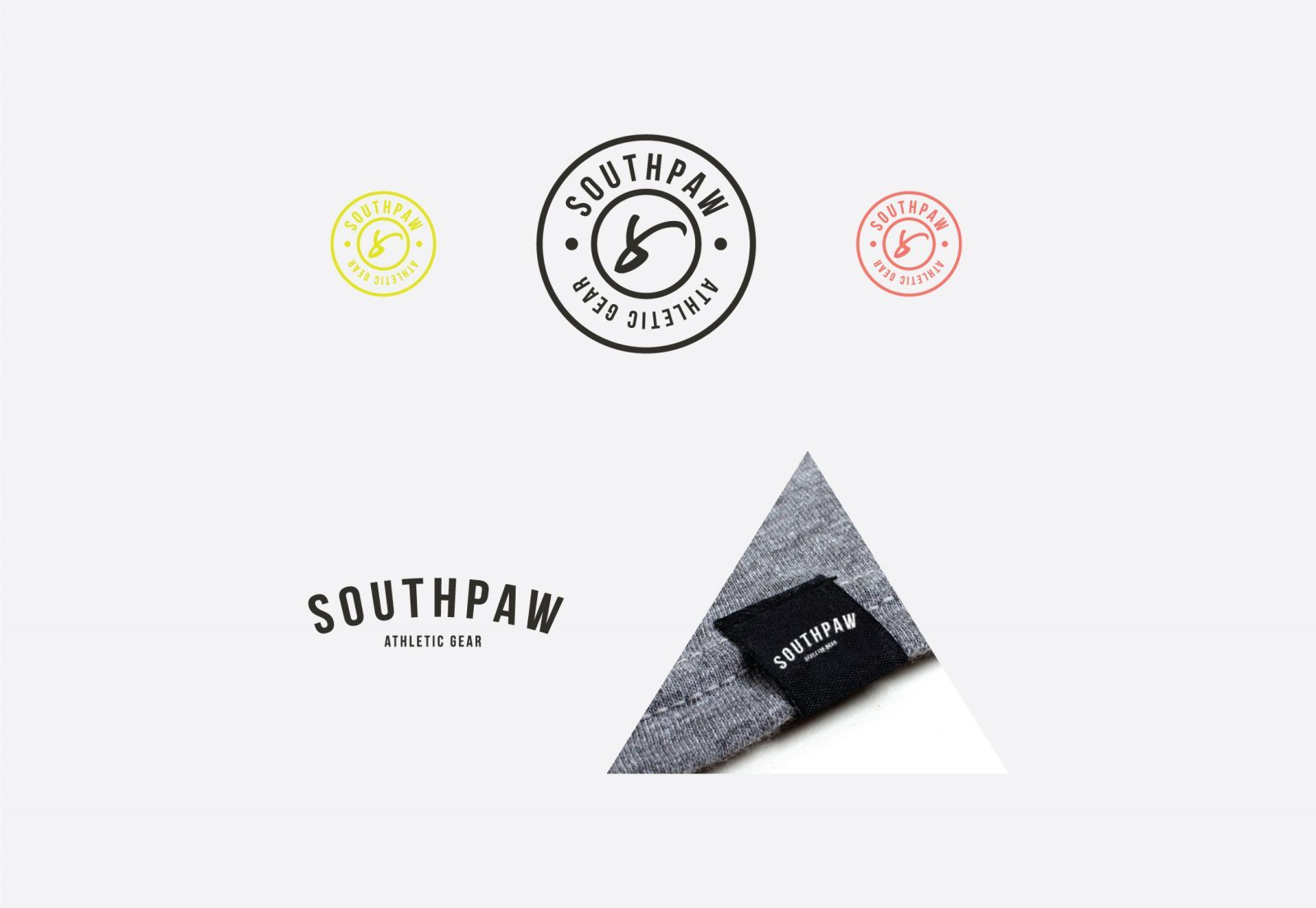 Southpaw Athletic Gear Branding and Logo