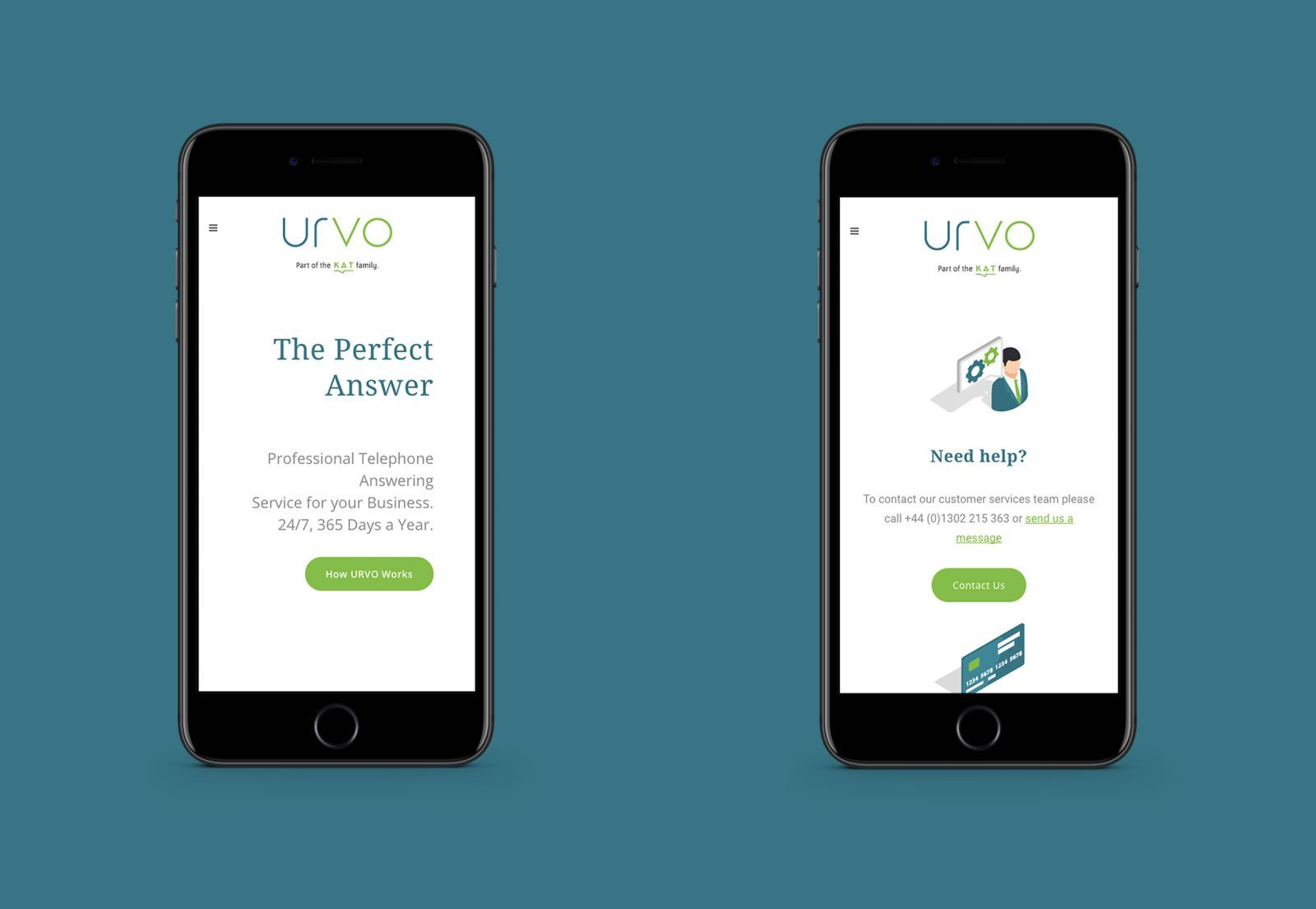 Mobile Device Viewpoint Bespoke Website